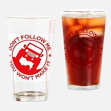 Funny Jk Drinking Glass