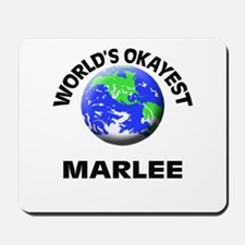 World's Okayest Marlee Mousepad