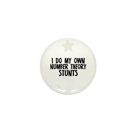 I Do My Own Number Theory Stu Mini Button (10 pack