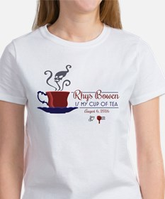 Rhys Bowen Is My Cup Of Tea Women's T-Shirt