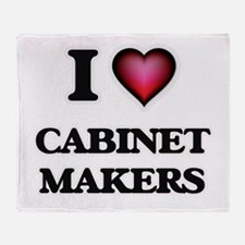 I love Cabinet Makers Throw Blanket