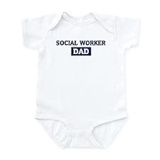 SOCIAL WORKER Dad Infant Bodysuit