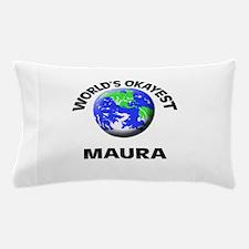 World's Okayest Maura Pillow Case