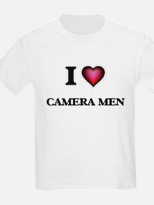 I love Camera Men T-Shirt