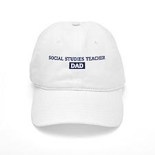 SOCIAL STUDIES TEACHER Dad Baseball Cap