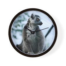 Cute Lemur Wall Clock