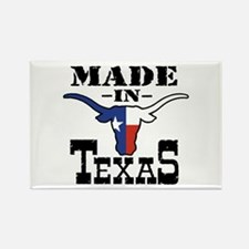 Made In Texas Rectangle Magnet