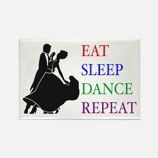 Eat Sleep Dance Rectangle Magnet