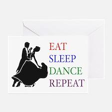Eat Sleep Dance Greeting Cards (Pk of 10)