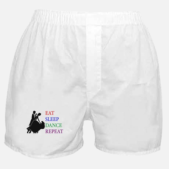 Eat Sleep Dance Boxer Shorts