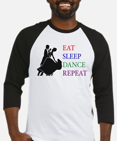 Eat Sleep Dance Baseball Jersey