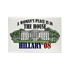 Hillary Clinton Rectangle Magnet