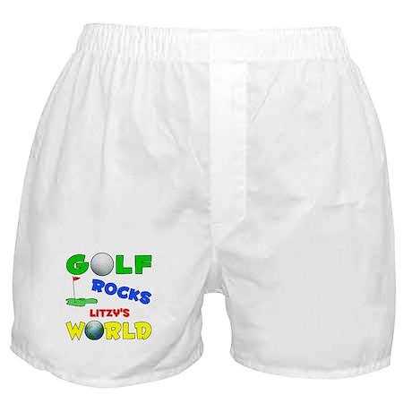 Golf Rocks Litzy's World - Boxer Shorts