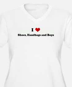 I Love Shoes, Handbags and Bo T-Shirt