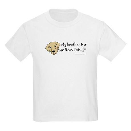 yellow lab gifts Kids Light T-Shirt