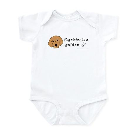 golden retriever gifts Infant Bodysuit