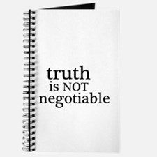 truth is not negotiable Journal