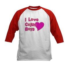 I Love Cajun Boys Tee