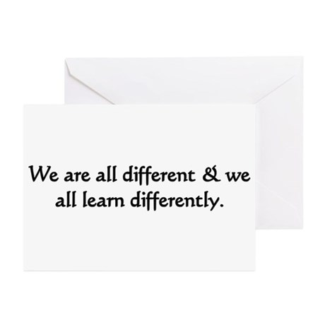 Teacher & Student Greeting Cards (Pk of 20)