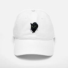 Black Cat Baseball Baseball Cap