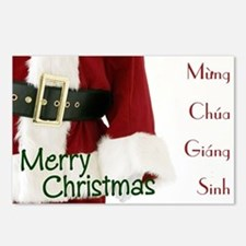 Vietnamese Santa Postcards (Package of 8)