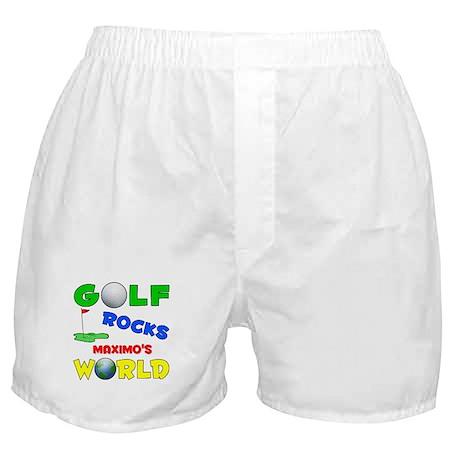 Golf Rocks Maximo's World - Boxer Shorts