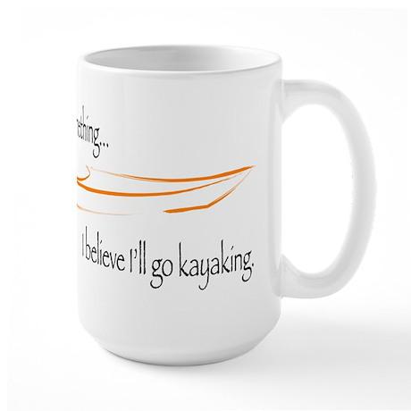 Believe in Kayaking 2 Large Mug