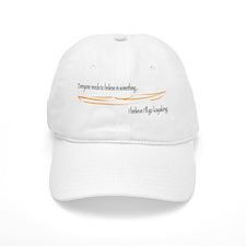 Believe in Kayaking 2 Baseball Cap