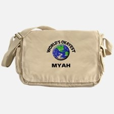 World's Okayest Myah Messenger Bag