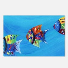 Unique Tropical fish Postcards (Package of 8)