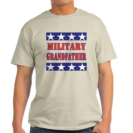 US Flag/Military Grandfather Light T-Shirt