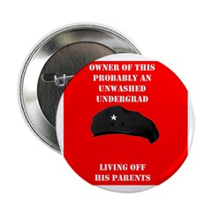 Stinky Poor Che Socialist Revolutionary Button