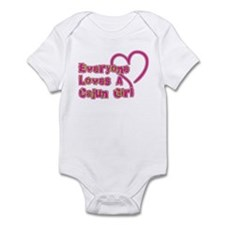 Everyone Loves A Cajun Girl Infant Bodysuit