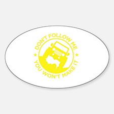 Cool Xj Sticker (Oval)