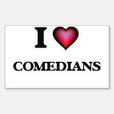 I love Comedians Decal
