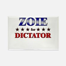 ZOIE for dictator Rectangle Magnet