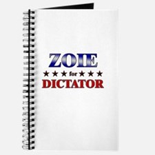 ZOIE for dictator Journal