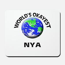 World's Okayest Nya Mousepad