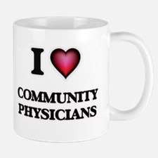 I love Community Physicians Mugs