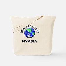 World's Okayest Nyasia Tote Bag