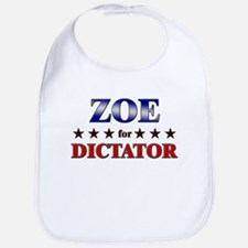 ZOE for dictator Bib