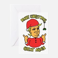 Make Christmas Great Again Greeting Cards