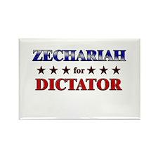 ZECHARIAH for dictator Rectangle Magnet