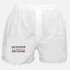 ZECHARIAH for dictator Boxer Shorts