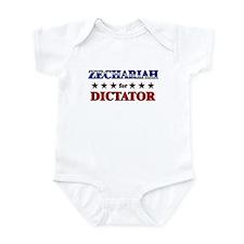 ZECHARIAH for dictator Infant Bodysuit