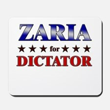 ZARIA for dictator Mousepad