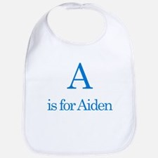 A is for Aiden Bib