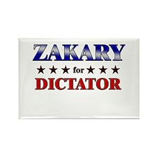 ZAKARY for dictator Rectangle Magnet