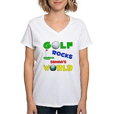 Golf Rocks Sanaa's World - Shirt