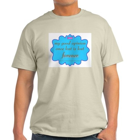 Good Opinion Two-Sided Light T-Shirt